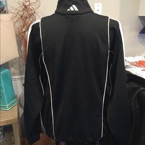 adidas Jackets & Coats - Adidas Black & White Zip Up Jacket